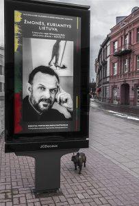 Poetas eseistas Rolandas Rastauskas / Algimanto Aleksandravičiaus nuotr.